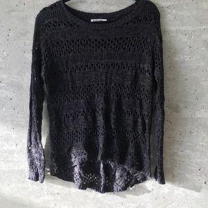 Open Knit Garage Sweater